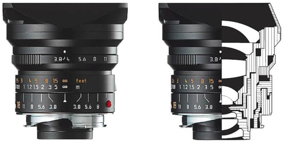 Leica M 18mm f3.8